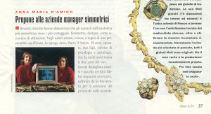 Anna Maria D'Amico propone alle aziende manager simmetrici